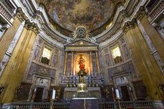 Kyrka av Gesuen, Rome, Italien Arkivfoto