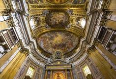 Kyrka av Gesuen, Rome, Italien Royaltyfria Bilder