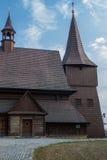 Kyrka av helgedomen Michael ärkeängeln i Zernica Royaltyfri Fotografi