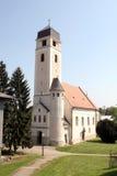Kyrka av helgedomkorset, Krizevci Arkivfoton