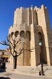 Kyrka av helgon Maries-de-la-MER Royaltyfria Foton