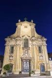 Kyrka av helgon Peter och Paul i Mechelen i Belgien fotografering för bildbyråer