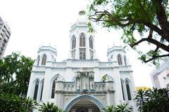 Kyrka av helgon Peter och Paul, Singapore Royaltyfria Bilder