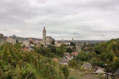 Kyrka av helgonet Barbara i Kutna Hora, Tjeckien Royaltyfri Fotografi