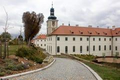 Kyrka av helgonet Barbara i Kutna Hora, Tjeckien Royaltyfri Bild