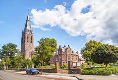 Kyrka av helgonet Lambert i Eindhoven Arkivfoton