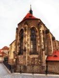 Kyrka av helgonet Salvator circa 1234 av kloster av helgonet Agnes Arkivbild