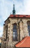 Kyrka av helgonet Salvator circa 1234 av kloster av helgonet Agnes Arkivbilder
