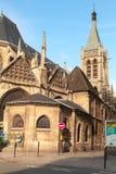 Kyrka av helgonet-Severin, Paris, Frankrike Arkivbild