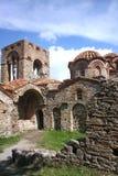 Kyrka av helgonet Sophia Byzantine Mystras royaltyfri bild