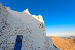 Kyrka av Keraleousa på Oria Arkivfoto