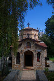 Kyrka av kloster av St Naum i Makedonien Arkivbilder