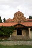 Kyrka av kloster i Makedonien på sjön Ohrid Royaltyfria Foton