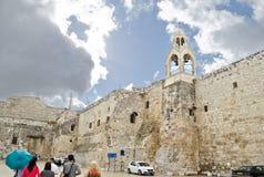 Kyrka av Kristi födelsen i Betlehem, Palestina royaltyfria foton