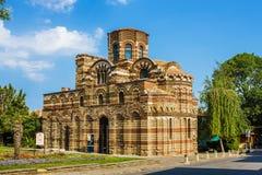 Kyrka av Kristus Pantocrator, Nesebar Arkivbilder