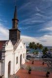 Kyrka av Le Diamand, Martinique royaltyfri fotografi