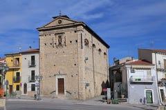 Kyrka av Madonna del Soccorso - Corfinio, Arkivbilder