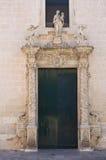 Kyrka av Madonna delle Grazie. Maglie. Puglia. Italien. royaltyfri bild