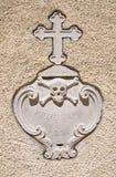 Kyrka av Madonna delle Grazie Pietragalla Basilicata italy arkivfoton