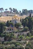 Kyrka av Mary Magdalene, Mount of Olives Royaltyfri Bild