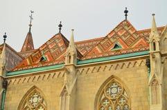 Kyrka av mathias Fotografering för Bildbyråer