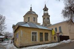 Kyrka av milt i Torzhok, Ryssland royaltyfri foto