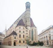 Kyrka av Minoritesen i Wien, Österrike Royaltyfri Fotografi