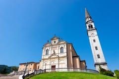 Kyrka av Monte di Malo - Vicenza Italy Royaltyfria Bilder