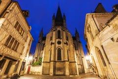 Kyrka av Notre-Dame av Dijon Fotografering för Bildbyråer