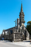 Kyrka av Notre Dame du Confort, Confort-Meilars (Frankrike) Arkivfoton