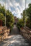 Kyrka av Panagia Chalkeon, 11th cectury, Fotografering för Bildbyråer