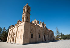 Kyrka av Panagia på den Lysi byn, Cypern Arkivfoton