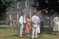 Kyrka av Potomac, Arlington, Virginia Arkivfoto