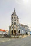 Kyrka av Reguengos de Monsaraz, Portugal Royaltyfri Bild
