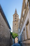 Kyrka av Saint Michel i Castelnaudary - Frankrike Fotografering för Bildbyråer