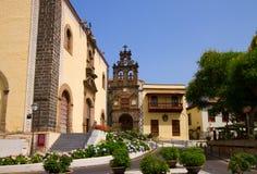 Kyrka av San Augustin, La Orotava, Tenerife royaltyfri fotografi