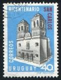Kyrka av San Carlos arkivfoto