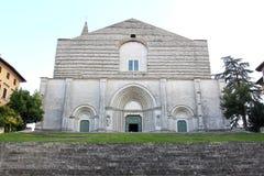 Kyrka av San Fortunato, Todi, Perugia, Italien Arkivbild