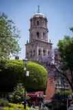 Kyrka av San Francisco, Queretaro stad, Mexico fotografering för bildbyråer