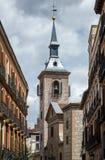 Kyrka av San Gines Arles Madrid - Spanien Royaltyfri Foto