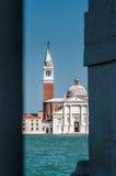 Kyrka av San Giorgio Maggiore Arkivfoton
