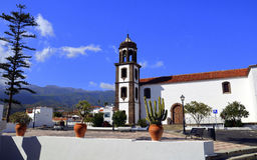 Kyrka av San Juan Bautista, Arico, Tenerife Royaltyfria Bilder