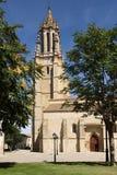 Kyrka av San Miguel i Ampudia royaltyfri foto