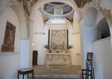 Kyrka av San Nicola från Myra, Locorotondo, Italien Royaltyfria Bilder