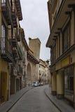 Kyrka av San Pedro de los Francos i Calatayud, Zaragoza royaltyfri bild