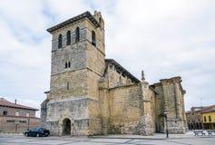 Kyrka av San Pedro i Fromista arkivfoto