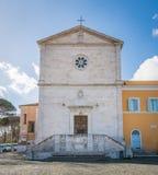 Kyrka av San Pietro i Montorio i Rome, Italien arkivbild