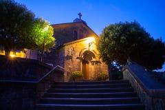 Kyrka av San Tirso, Palas de Rey Royaltyfri Foto