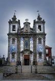 Kyrka av Sanktt Ildefonso Arkivbilder