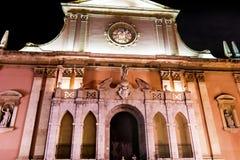 Kyrka av Sant Antoni Abat i Spanien Royaltyfri Fotografi